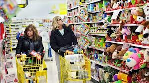 two women shopping for toys